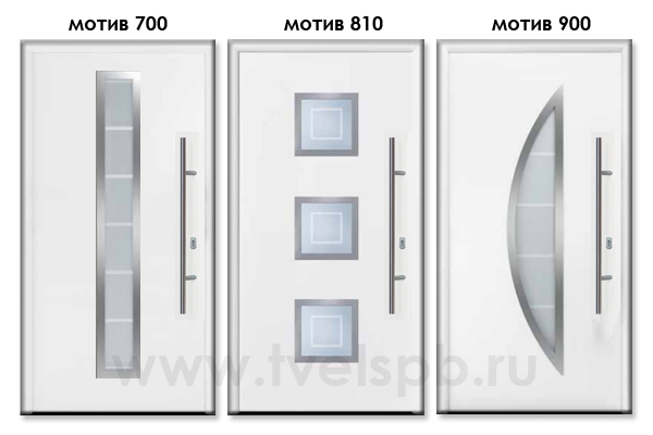 двери Херманн ThermoPlus motiv 700 810 900