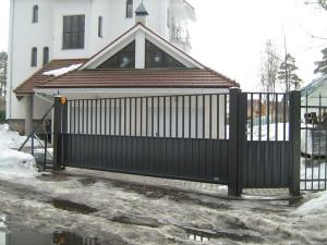 Откатные ворота ТВЕЛЬ