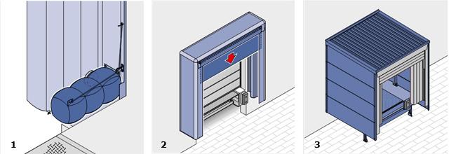 опции надувные герметизаторы