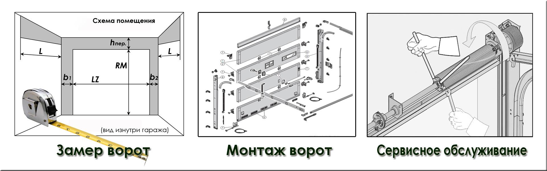 Автоматические ворота для коттеджей