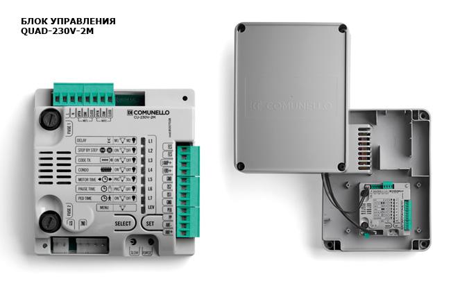 блок управления распашных приводов quad-230V-2M