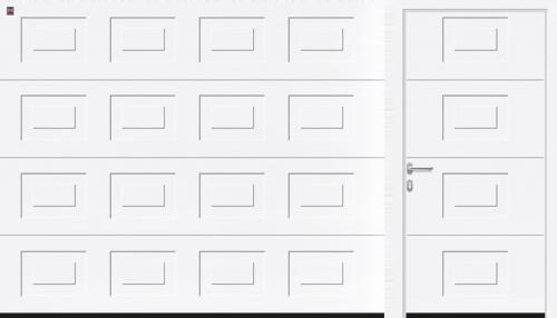 гаражные ворота LPU кассета