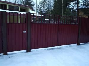 Распашные ручные ворота