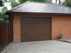 Ручные гаражные ворота