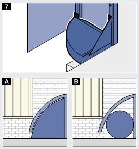угловая подушка герметизатора