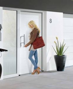дверь thermoplus 015 и ворота LPU M-гофр