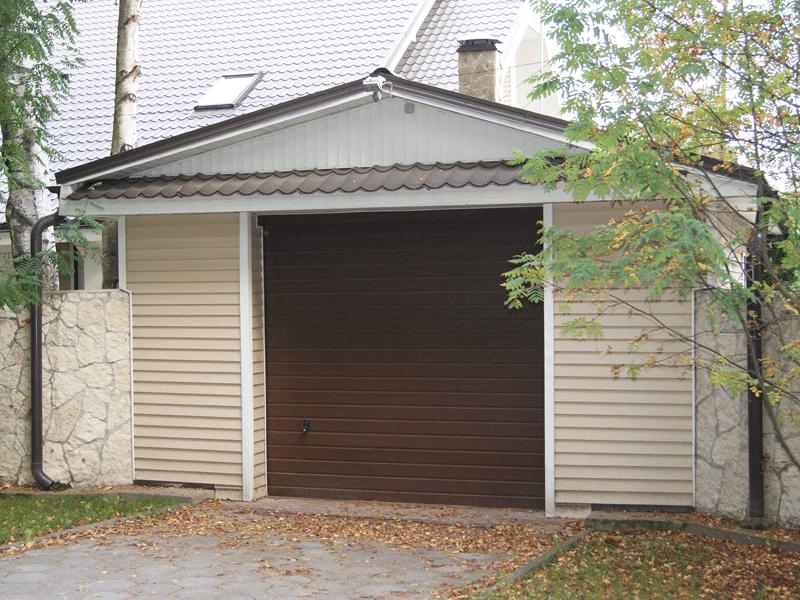 Гаражные ворота LPU-40 производства ХЕРМАНН