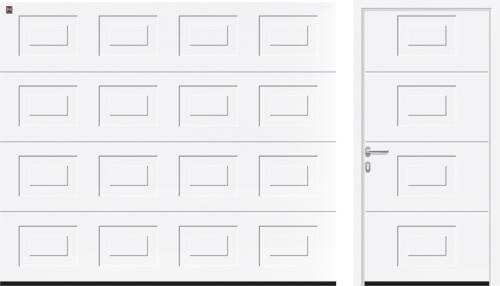 ворота гаражные кассета hormann