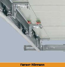 Технические особенности подъемно-секционных гаражных ворот Херманн