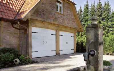 Цены на гаражные распашные ворота
