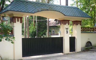 Покупайте откатные ворота с установкой