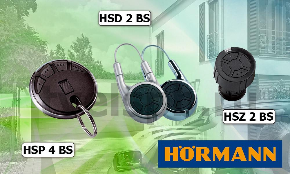 пульты Херман HSP 4 BS HSZ 2 BS HSD 2-A