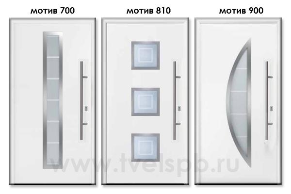 двери Thermo65 мотив 700 810 900