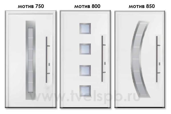 двери Thermo65 мотивы 750 800 850