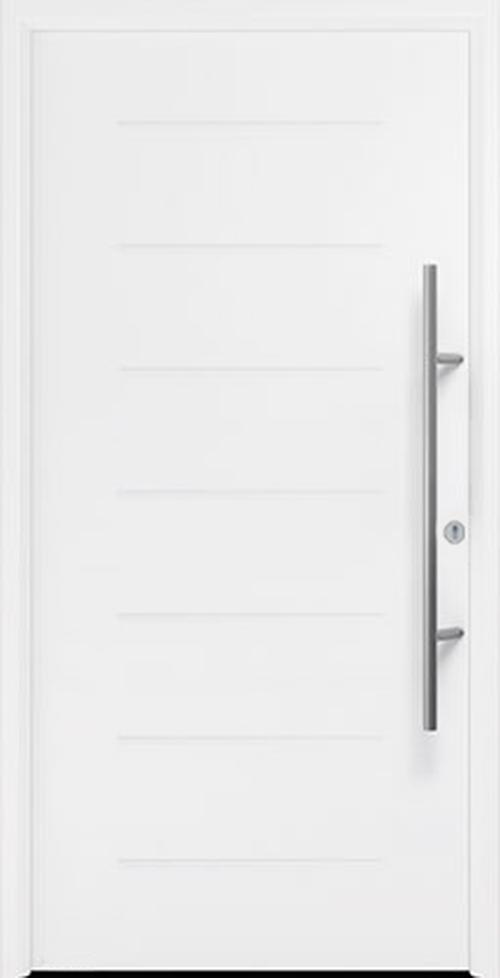 входная дверь Thermo 65 мотив THP 015 RAL9016