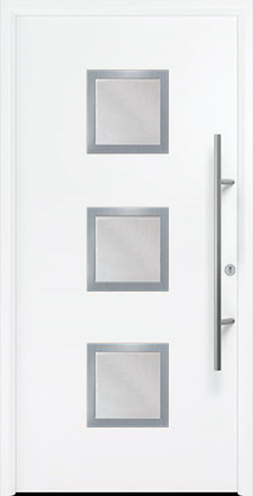 входная дверь Thermo 65 мотив THP 810S RAL9016