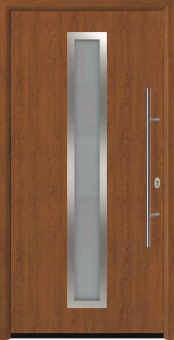 входная дверь Thermo 65 мотив THP 700A Золотой Дуб Golden Oak