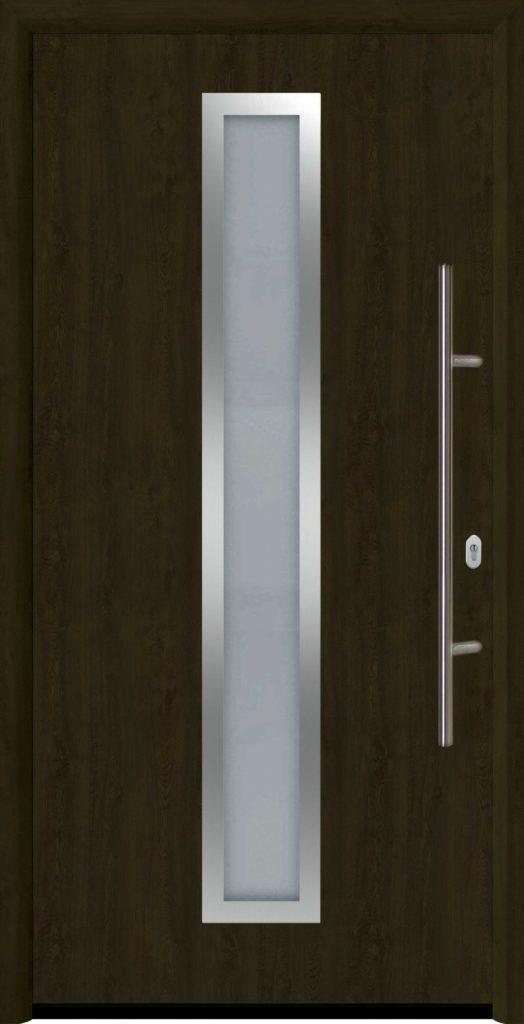 входная дверь Thermo 65 мотив THP 700A Ночной Дуб Night Oak