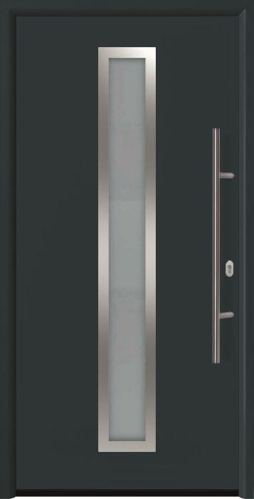 входная дверь Thermo 65 мотив THP 700A RAL7016