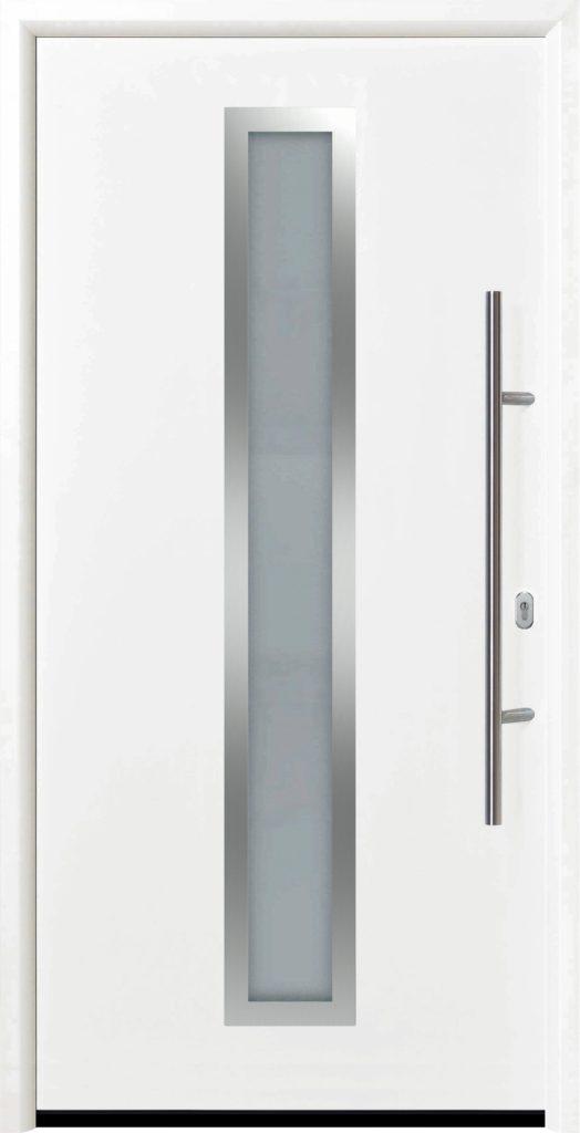 входная дверь Thermo 65 мотив THP 700A RAL9016