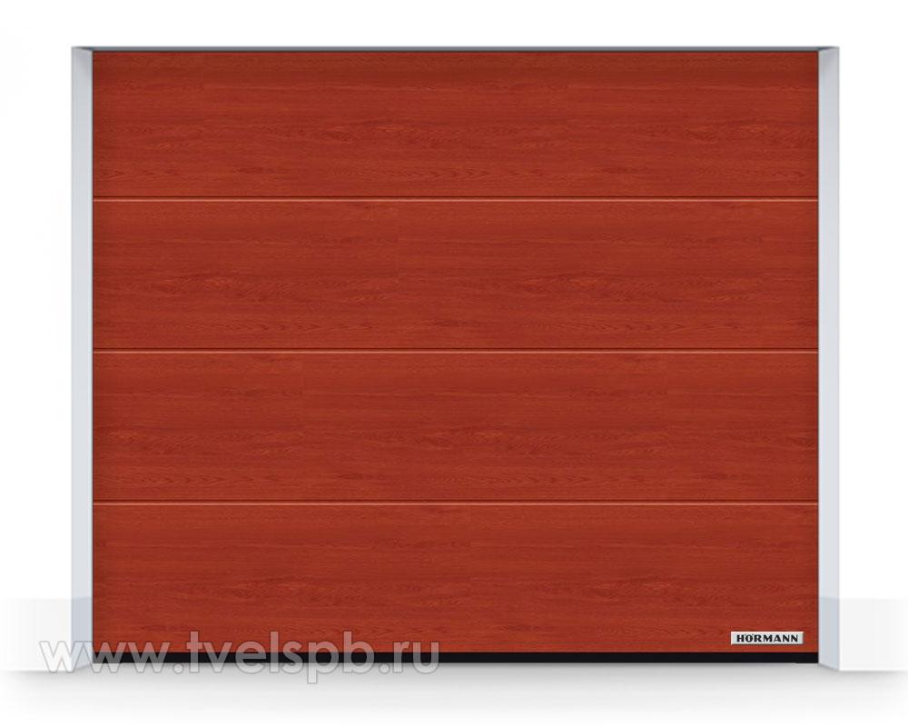 Гаражные ворота Херманн DuraGrain Rusty Oak Дуб рыжий