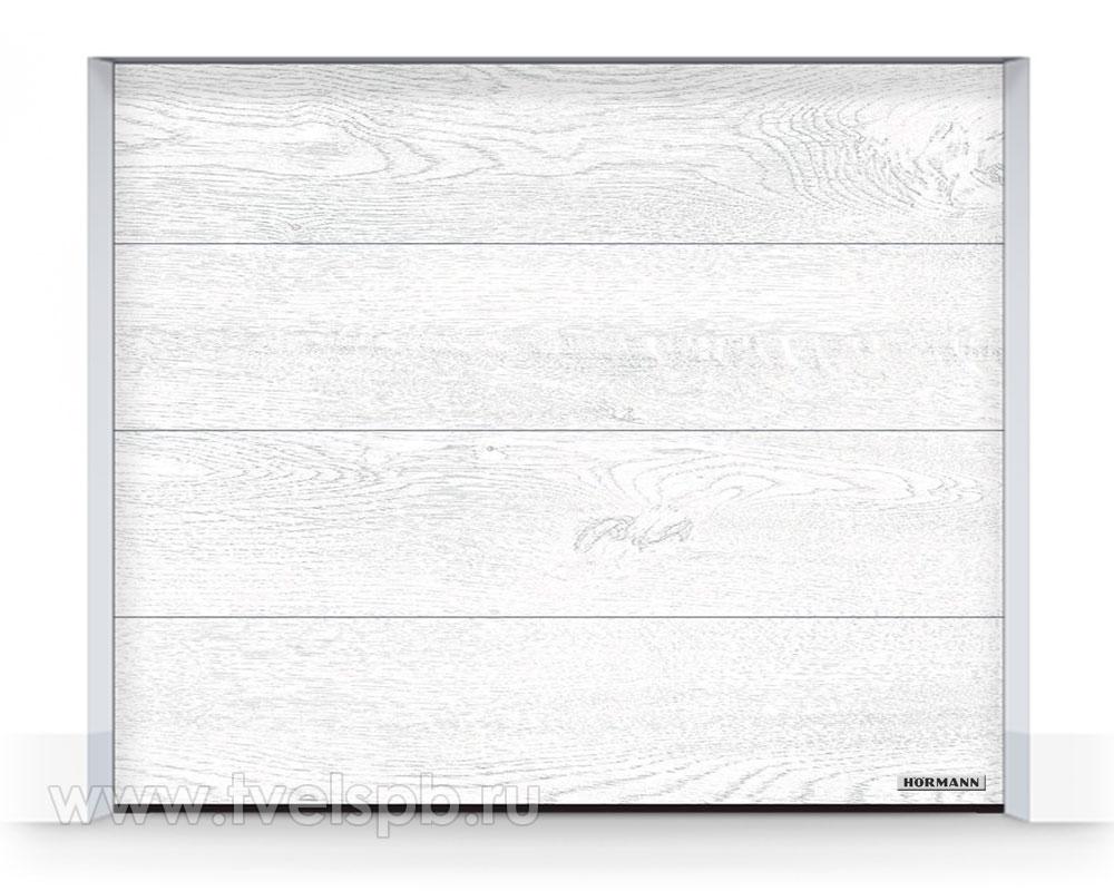 Гаражные ворота Херманн DuraGrain White Oak Белый Дуб