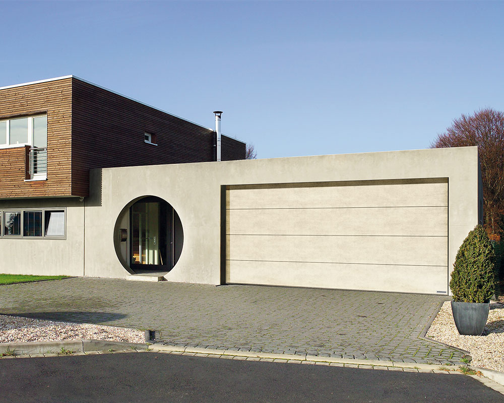 ворота гаражные HORMANN Duragrain beige