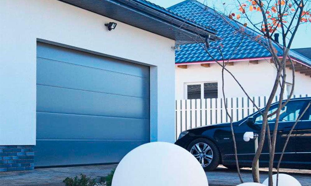 Гаражные ворота Prestige Алютех L-гофр Smooth цвет ADS703