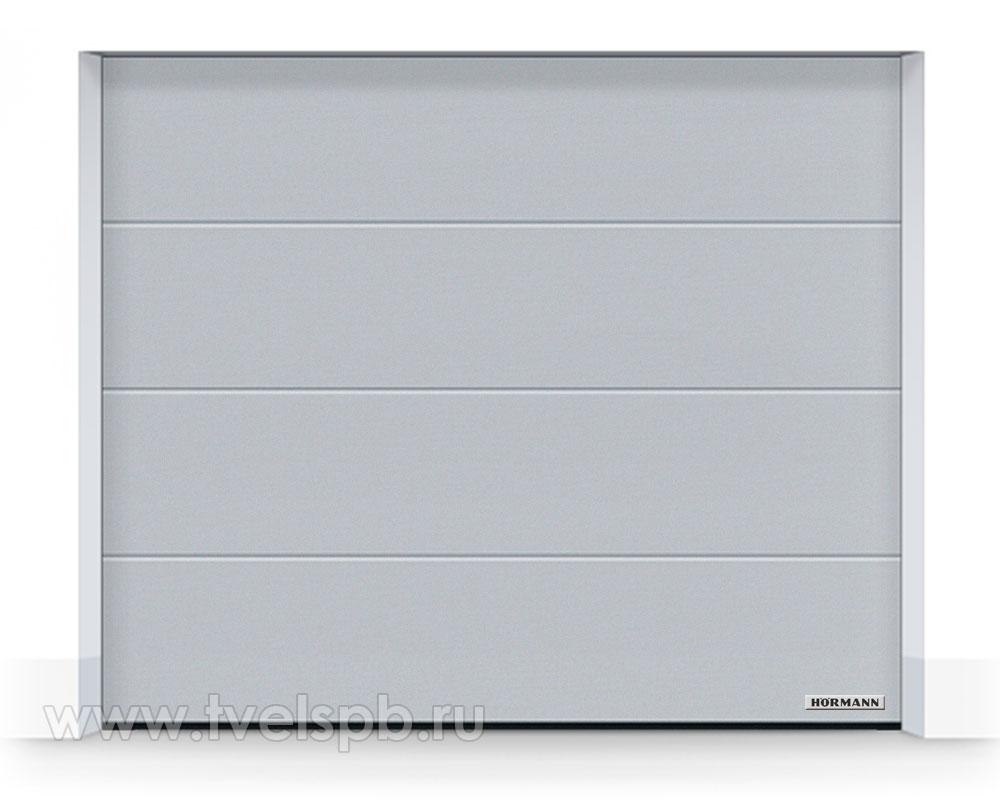 гаражные-ворота-hormann-renomatic-duragrain-diamond-grey