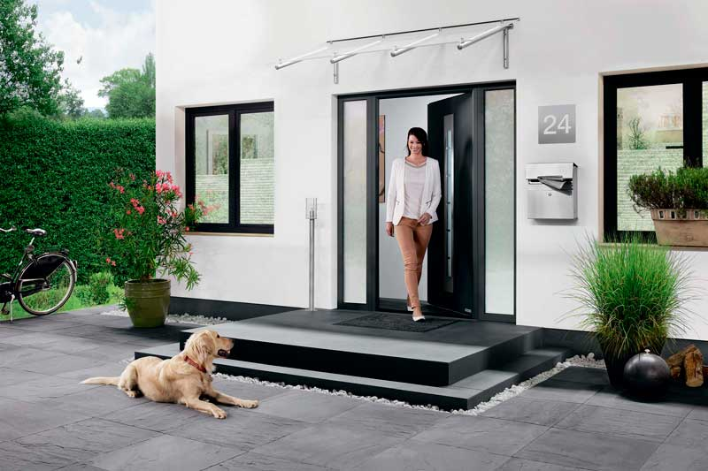 Входная дверь в частный дом Thermo65